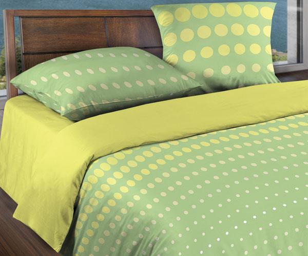 Постельное белье «WENGE» Dot Green