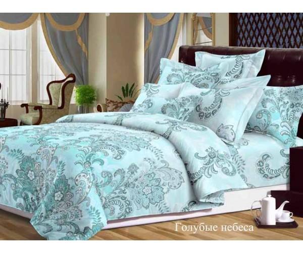 Постельное белье «Dolce Vita Luxe» Голубые небеса