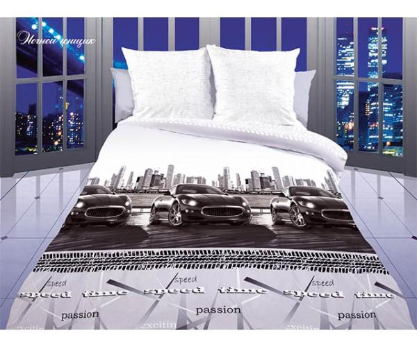 Постельное белье «Dolce Vita Luxe» Ночной гонщик