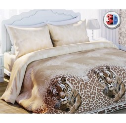 Постельное белье. «Любимый Дом 3D» Тигр