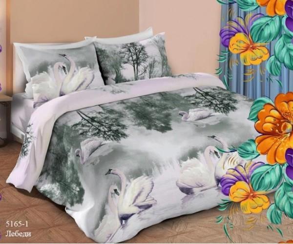 Постельное белье « Маруся» Лебеди