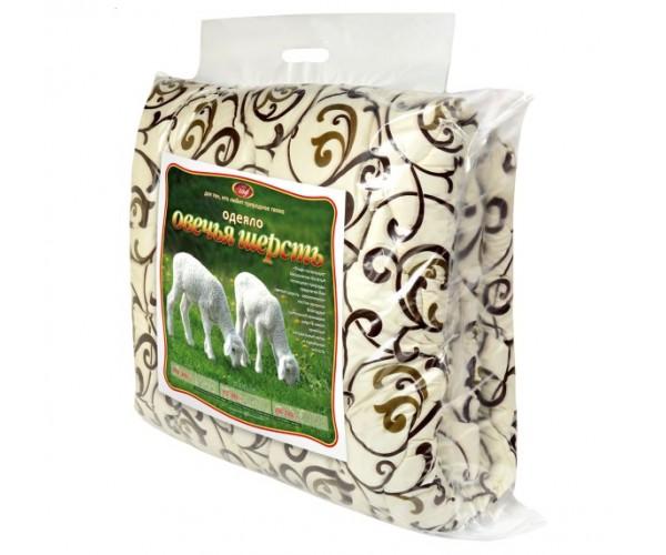 Одеяло  «Эльф» из овечьей  шерсти стандарт