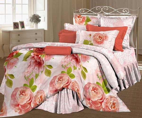 Комплект постельного белья «Свежие бутоны»