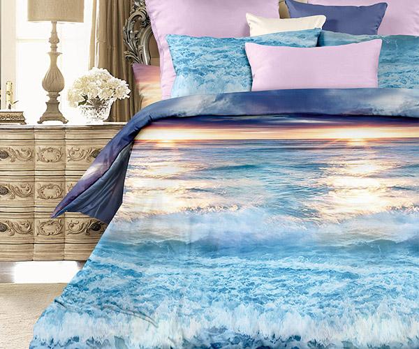 Постельное белье «Романтика» Голубая лагуна