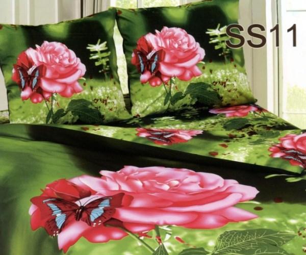 Постельное белье. Сатин «Лаванда» Роза SS11